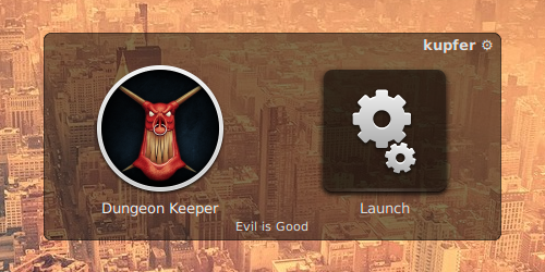 Dungeon Keeper launcher